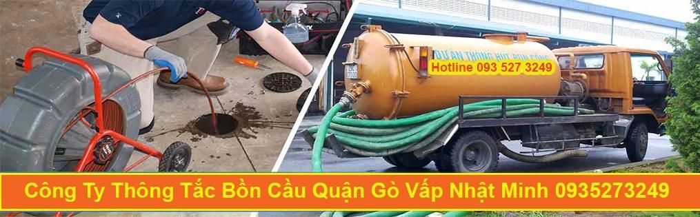 Công Ty Thông Tắc Bồn Cầu Toilet Quận Gò Vấp Nhật Minh 0935273249