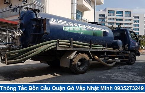 Cam kết hút hầm cầu không đục phá Quận Gò Vấp không gây mùi hôi.
