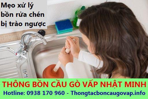 Mẹo xử lý và phòng ngừa khi bồn rửa chén trào ngược hiệu quả nhanh chóng