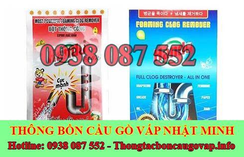 Bán bột thông bồn cầu Quận Gò Vấp giá rẻ 0938087552