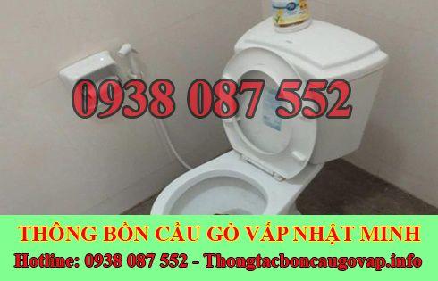 Thông bồn cầu tắc băng vệ sinh Quận Gò Vấp 0938087552