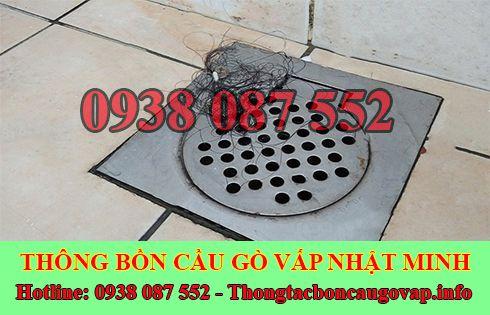 Dịch vụ khử mùi hôi cống mùi hôi toilet nhà vệ sinh Quận Gò Vấp Nhật Minh.