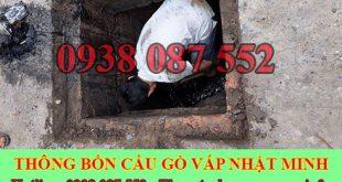 Hút Nạo Vét Hố Ga Quận Gò Vấp Nhật Minh 0938087552