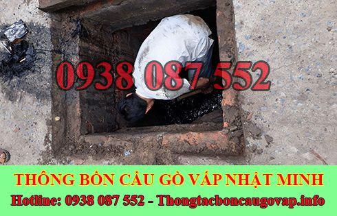 Đơn vị nạo vét hố ga giá rẻ Quận Gò Vấp Nhật Minh.