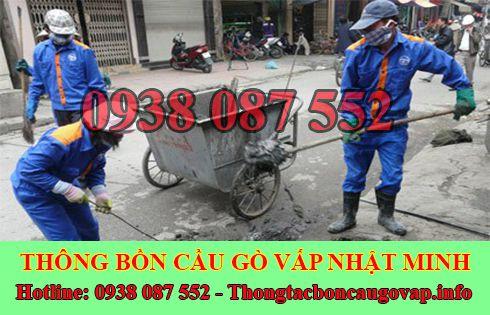 Dịch Vụ Hút Nạo Vét Hố Ga Quận Gò Vấp Gía Rẻ 0938087552