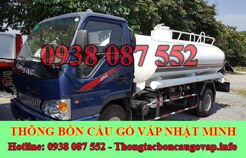 Số điện thoại hút hầm cầu Quận Gò Vấp giá rẻ 0938087552