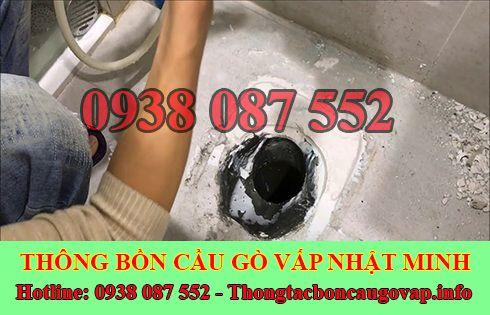 Số điện thoại thông cống nghẹt Quận Gò Vấp giá rẻ 0938087552