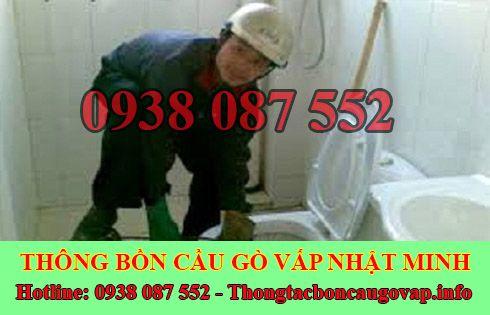 Dịch vụ thợ sửa bồn cầu nhà vệ sinh bị nghẹt tại Quận Gò Vấp uy tín.