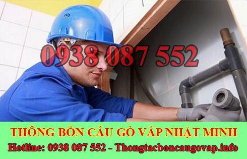 Thợ sửa bồn rửa chén bát Quận Gò Vấp tại nhà 0938087552