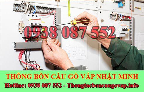 Thợ sửa chữa điện nước Quận Gò Vấp tại nhà 0938087552