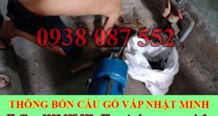 Thông Cầu Cống Nghẹt Quận Gò Vấp Nhật Minh 0938087552
