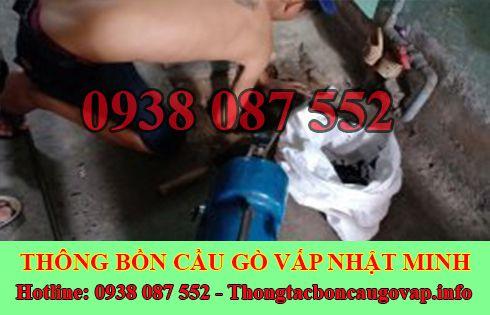 Dịch Vụ Thông Cầu Cống Nghẹt Quận Gò Vấp Nhật Minh.