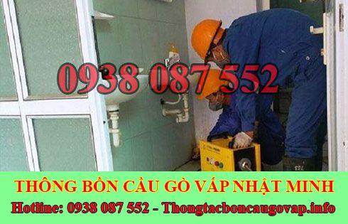 Thông đường ống nước bị tắc nghẹt Quận Gò Vấp 0938087552