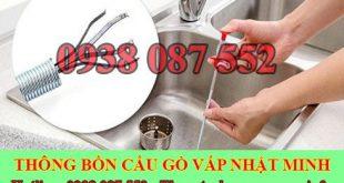 Thông bồn rửa mặt quận Gò Vấp Nhật Minh 0938087552