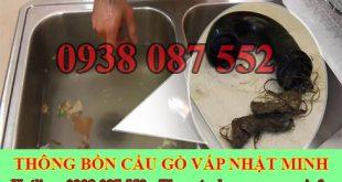 Thông chậu rửa chén bát Quận Gò Vấp Nhật Minh 0938087552
