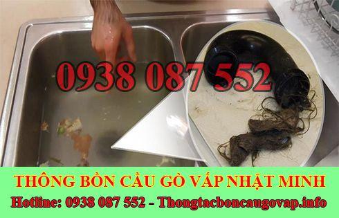 Thông tắc bồn chậu rửa chén bát Quận Gò Vấp 0938087552